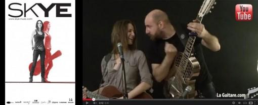 skye chanteuse ael guitare