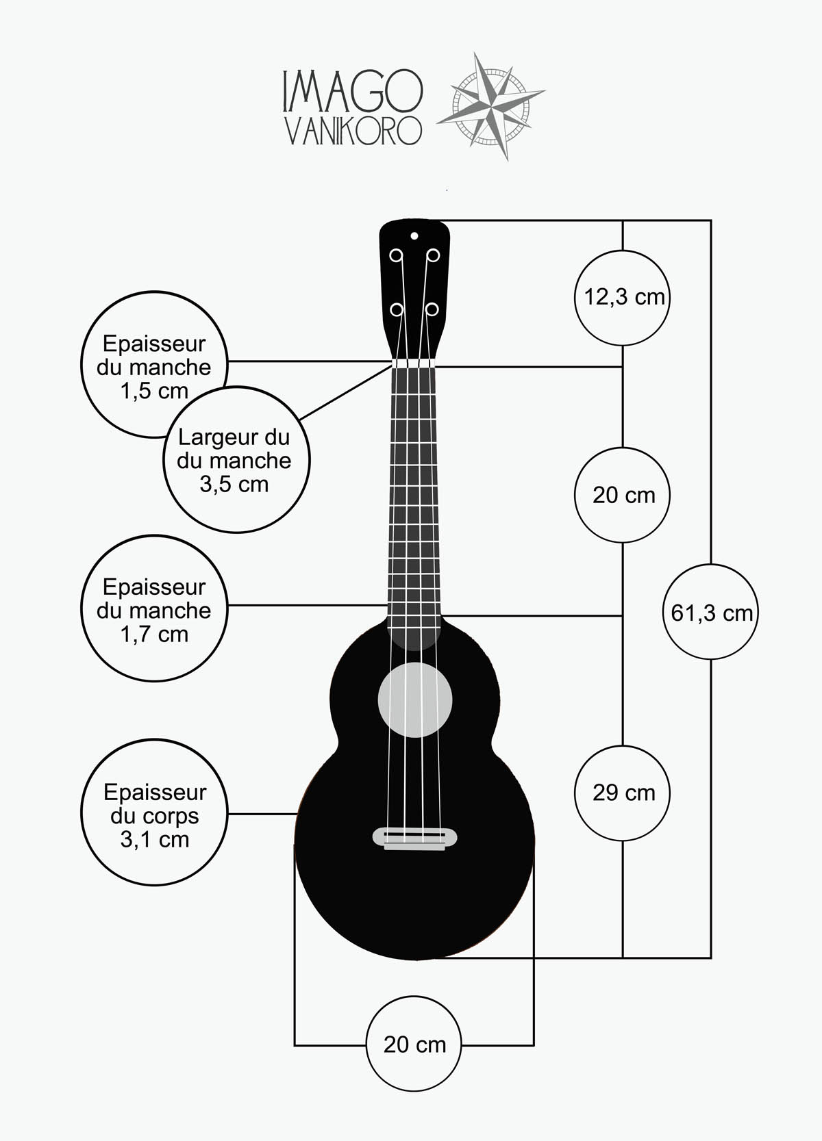 vanikoro dimensions