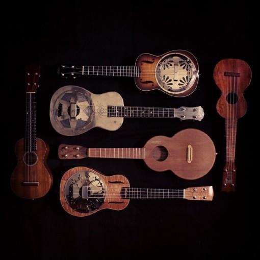 Ael ukulele album en préparation
